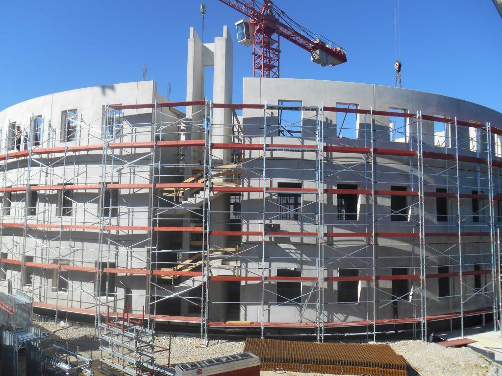 Rusztowanie Fasadowe - Rusztowanie szybkiego montażu Schnellbau